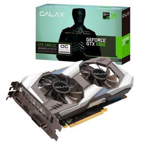 Placa de vídeo - NVIDIA GeForce GTX 1060 (6GB / PCI-E) - Galax OC 60NRJ7DSX1PO-ANCG - R$1000