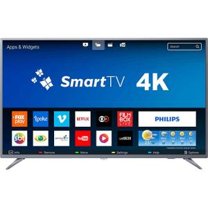 [APP Shoptime] Smart TV LED 50 Polegadas Philips 50PUG6513 4K USB 3 HDMI Netflix | R$1799 (R$1.709 com AME)