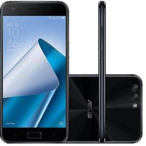 "Smartphone Asus Zenfone 4 6GB Memória Ram Dual Chip Android Tela 5.5"" Snapdragon 64GB 4G Câmera dual - R$1259"