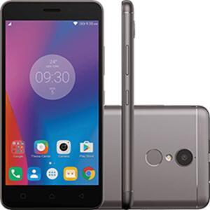 Smartphone Lenovo Vibe K6  32GB 4G Câmera 13MP - Grafite | R$747