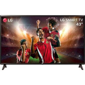 [APP] Smart TV LED 43'' Full HD LG 43LK5700 com IPS ThinQ AI WI-FI Processador Quad Core e HDR 10 Pro | R$1.350 (R$1.275 com AME)