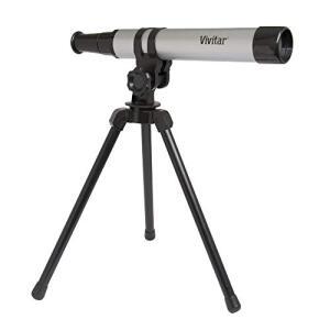 Telescópio portátil com ampliação 15x e tripé, Vivitar, VIVTEL30300 | R$147