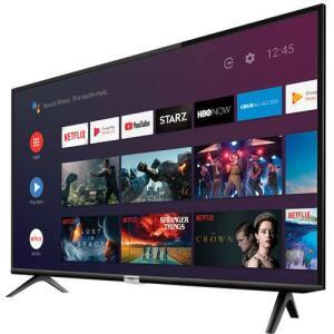 "(APP) Smart TV LED 32"" Android TCL 32s6500 HD Wi-Fi Bluetooth 1 USB 2 HDMI Controle Remoto com Google Assistente | R$873 (R$830 com AME)"