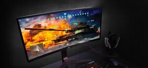 Monitor 34'' IPS Curvo ultrawide Full HD 34UC79G - LG 12% Cashback