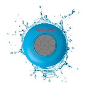 Caixa De Som Bluetooth Acqua Azul Resistente À Água