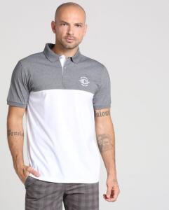 Camisa Polo Recortes Tamanho GG  por R$ 25