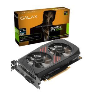 Placa De Vídeo Galax Geforce GTX 1050 TI 1 CLICK OC, 4GB GDDR5, 128BIT | R$699
