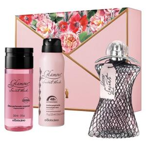 Kit Presente Glamour Secrets Black Mães por R$ 170