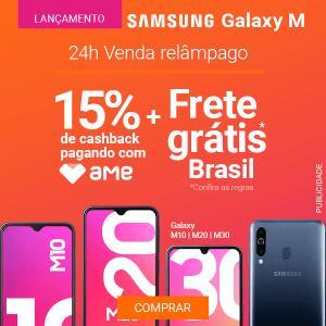 Samsung Galaxy M - Pré Venda [15% AME + Frete Grátis]