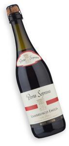 Vinho Porta Soprana Lambrusco I.G.P. Emilia Rosso Amabile | R$30