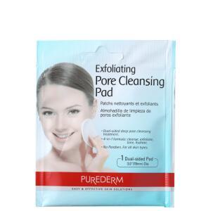 Purederm Exfoliating Pore Cleansing Pads - Lenço Esfoliante para Limpeza Profunda (1 unidade) R$5