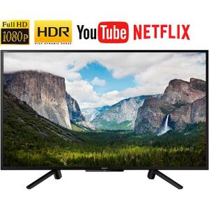 "Smart TV LED 50"" Sony KDL-50W665F Full HD com Conversor Digital 2 HDMI 2 USB Wi-Fi 60Hz - Preta por R$ 1799"