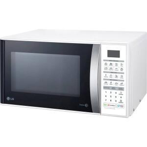 Micro-ondas Lg Ms3052R - Branco Com Puxador Prata - 30 Litros - 110V - R$313