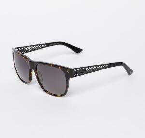 COLCCI   Óculos De Sol Masculino - Preto & Amarelo (detalhes retrô) R$80