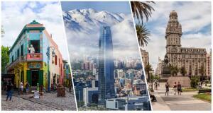 2 por 1 América do Sul! Argentina mais Chile ou Uruguai na mesma viagem a partir de R$ 844