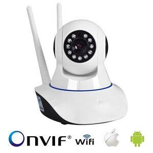 Camera IP HD 720 Alta Resolução WIFI baba Eletrônica por R$ 85