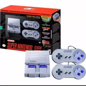 Console Clássico Edição Super Nes Snes Mini Sfc Retro 400 Jogos Embutidos