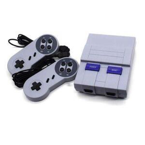 Console Clássico Edição Super Nes Snes Mini Sfc Retro 400 Jogos Embutidos R$196