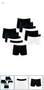 Kit com 10 Cuecas Boxer de Cotton 4.0 - Polo Match