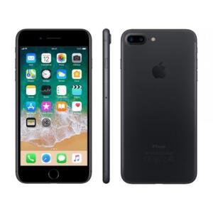 """iPhone 7 Apple Plus com 32GB, Tela Retina HD de 5,5"""", iOS 10, Dupla Câmera Traseira, Resistente à Água, Wi-Fi, 4G LTE e NFC - Preto R$2.618"""