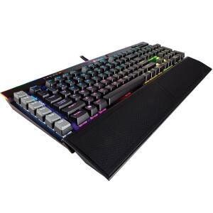 Teclado Mecânico Gamer Corsair K95, RGB, Switch Cherry MX Speed, ABNT2 - CH-9127014-BR R$644