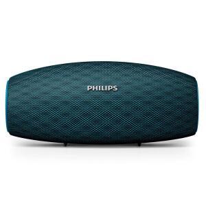 Caixa de Som Portátil Philips EverPlay BT6900A/00 à Prova d'Água e Bluetooth Azul