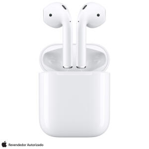 Fone de Ouvido Sem Fio Apple AirPods Intra-Auricular Branco