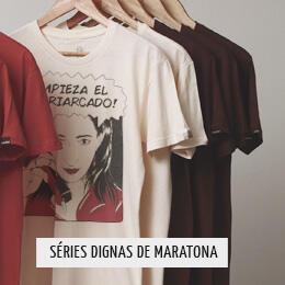 Camisetas por R$ 36,90