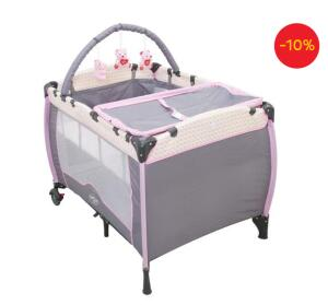 Berço Desmontável Baby Style Plus 663518 - Jardim | R$310