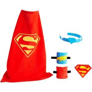Conjunto de Acessórios - DC Super Hero Girls - Fantasia Super Girl - Mattel | R$20