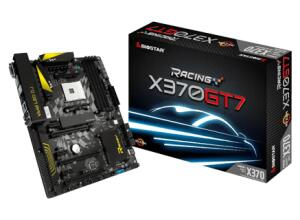Placa Mãe Biostar Racing X370GT7, CHIPSET X370, AMD AM4, ATX, DDR4 | R$599