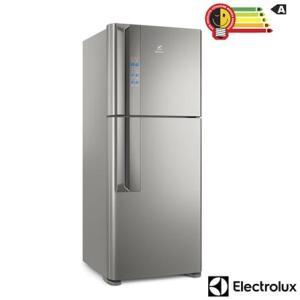 Refrigerador de 02 Portas Electrolux Frost Free com 431 Litros Inverter Top Freezer Platinum - IF55S | R$2.999