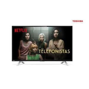 """Smart TV LED 32"""" Toshiba 32L2800 HD com Conversor Integrado 3 HDMI por R$828"""