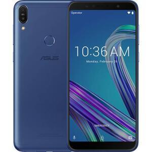 "Smartphone Asus Zenfone Max Pro (M1) 3/32GB - Dual Chip, Tela 6"" Snapdragon SDM636 4G Câmera 13 + 5MP (Dual Traseira), 5000 mAh - Azul"
