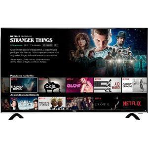 """[AME] Smart TV LED 49"""" Philco PTV49e68dSWN Full HD com Conversor Digital 3 HDMI 1 USB Wi-Fi 60Hz - Preta por R$ 1419 ( com AME)"""