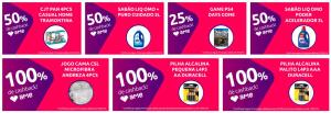 AME 100% - 50% - 25% - CASHBACK - LOJAS FÍSICAS