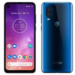 Smartphone Motorola One Vision, Safira, Dual Chip - 128GB  | R$1.649