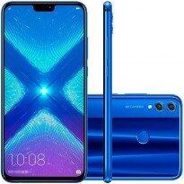 Smartphone Huawei Honor 8X 64GB Versão Global Desbloqueado Preto R$1093