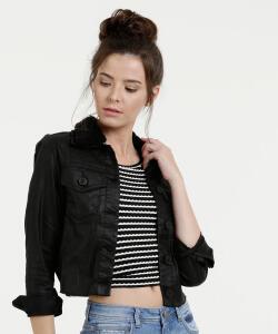 Jaqueta Feminina Jeans Zune Jeans By Sabrina Sato R$119