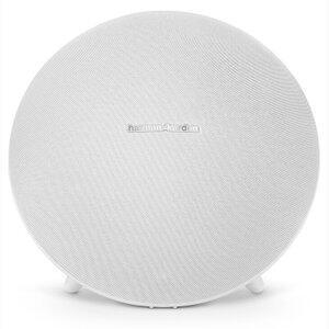 Caixa de Som Bluetooth Harman Kardon com Potência de 60W Branco - Onyx Studio 4 | R$649
