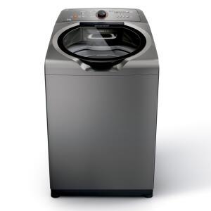 Máquina de Lavar Brastemp 15kg titânio com Ciclo Edredom Especial e Enxágue Anti-Alérgico - BWN15AT - 110V R$1.879