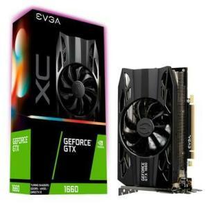 Placa de Vídeo EVGA NVIDIA GeForce GTX 1660 XC Gaming 6GB, GDDR5