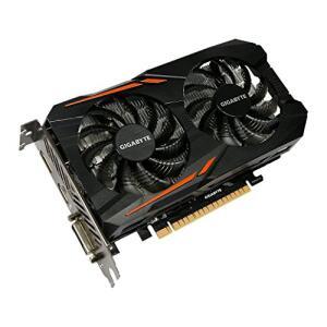 Graphic Cards GeForce GTX 1050, 2GB, OC Edition, Gigabyte, GV-N1050OC-2GD por Gigabyte
