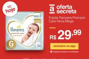 [APP] Fralda Pampers Premium Care Nova Mega