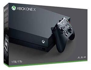 Console Microsoft Xbox One X 1TB Preto | R$1.844
