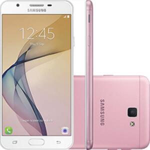 "Smartphone Samsung Galaxy J5 Prime Dual Chip Android 6.0 Tela 5"" Quad-Core 1.4 GHz por R$ 599"