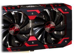 PLACA DE VÍDEO POWERCOLOR RADEON RX 580 RED DEVIL, 8GB GDDR5, 256BIT, AXRX 580 8GBD5-3DH/OC - R$1017