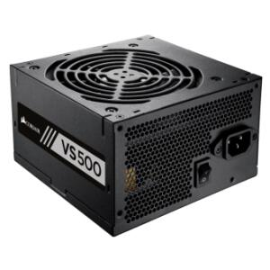 Fonte Coesair VS500 500W, 80 Plus White, PFC ATIVO - R$258