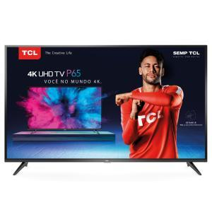 "Smart TV Led 65"" Semp Toshiba 4K Wi-Fi USB HDMI 65P65US | R$3.514"