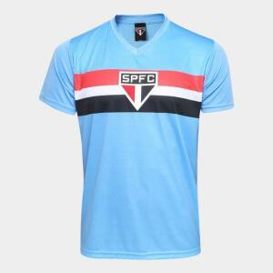 Camisa São Paulo Celeste Masculina - Azul - R$36